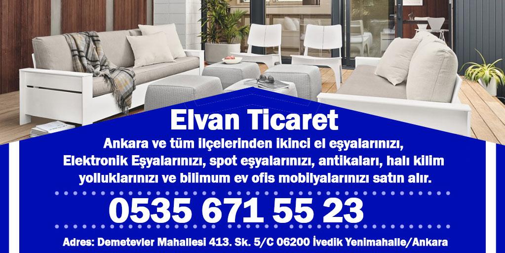ELVAN SPOT ANKARA 2 EL - Anasayfa